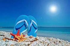 Just cuz! Beach Color, Sand And Water, I Love The Beach, Beautiful Beaches, Beautiful Images, Diving, Fun Stuff, Flip Flops, Salt