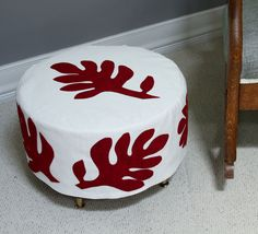 How To: Make an Ottoman Slipcover | Apartment Therapy