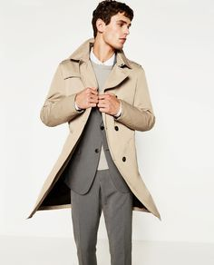 Image 2 of DETACHABLE LINING TRENCH COAT from Zara