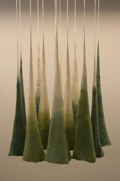 Anna Kristina Goransson, Felted and dyed wool