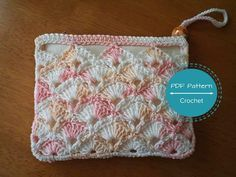 Crochet Coin Purse - PDF Pattern + How to Double Crochet