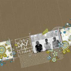 #papercraft #scrapbook #layout