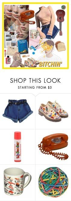 """""""re-runs at 3 in the mornin"""" by mr-burns ❤ liked on Polyvore featuring Della, Anouki and Moleskine"""