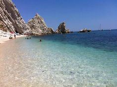 Riviera del Conero, nelle Marche Spiaggia delle due Sorelle - Sirolo