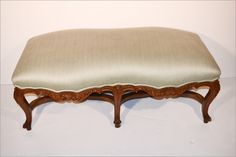 Vintage Carved French Bench $4,200.00