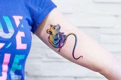 Jagoda Inktika rat tattoo