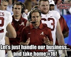 Alabama football, roll tide, rtr, crimson tide, crimson dynasty, nick saban, road to 16