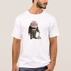 Shop Carl from the Disney Pixar UP Movie 2 T-Shirt created by disneyPixarUp. Personalize it with photos & text or purchase as is! Up Pixar, Disney Pixar Up, Disney Theme, Disney Birthday, Pixar Movies, Birthday Gifts, Bolt Disney, Disney Logo, Fashion Graphic