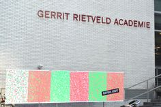 Gerrit Rietveld Academie, Amsterdam, January 2014