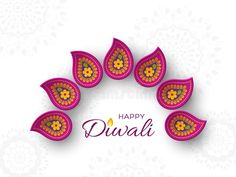 Illustration about Diwali festival holiday design with paper cut style of Indian Rangoli. Purple color on white background. Illustration of decorative, flame, festival - 122462377 Diwali Diya, Indian Rangoli, Diwali Festival, Cut And Style, Paper Cutting, Crochet Earrings, Purple, Illustration, Holiday