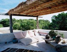 Consuelo Castiglioni's (Marni) home in Formentera, Spain by allyson