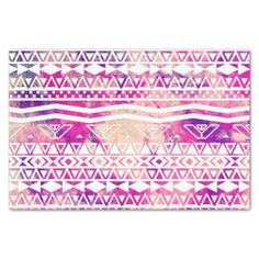 Ethnic Abstract Andes Aztec Pattern Watercolor 10