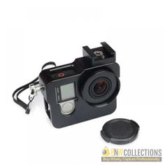 Buy Aluminium Case For Gopro At Rs.2,250 Features :- It can be easily installed, net weight is around 130g. Cash on Delivery Hassle FREE To Returns Contact # (+92) 03-111-111-269 (BnW) #BnWCollections #Aluminium #Case #Gopro