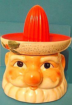 Santa Claus Figural  Citrus Juicer Reamer