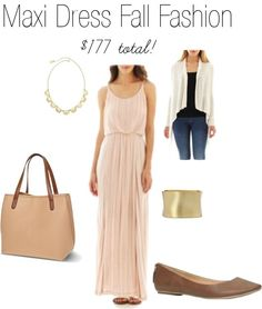 Why maxi dresses are perfect for fall! #JCPAmbassador #ad #fallfashion #maxidress #style