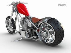 West Coast Choppers King CFL - if I lived in the states I'd have to get one of these - and learn to ride a bike!