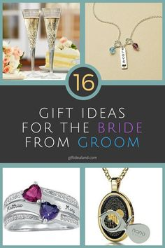 16 Great Wedding Gift Ideas From Groom To Bride