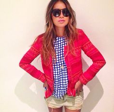 This jacket. Her style.