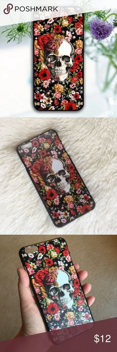2 for $12🌈 iPhone 6 Plus/6S Plus Case Thin hard plastic case with a cool skull and colorful flowers. Fits the iPhone 6 Plus and the iPhone 6S Plus phones.  🌈2 for $12 Offer! Simply bundle 2 eligible cases and submit an offer for $12 😉🌈 Accessories Phone Cases