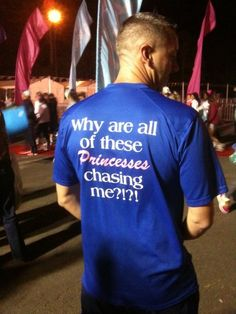 Hahahaha!  Disney Princess Half Marathon Shirt! Oh my God! What guys want to run this with us @Leanne ?!