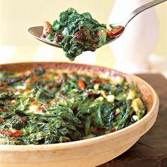 Creamy Spinach Casserole