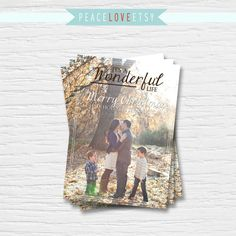 Printable Christmas Card  It's a Wonderful Life  by PeaceLoveEtsy, $12.95