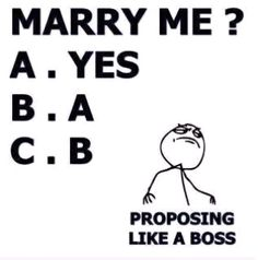 funny ways to propose - Google Search