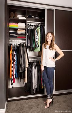 So proud of u kitty Catt!!!! Where was this organization when u lived w me?? :0) can I live in this closet?
