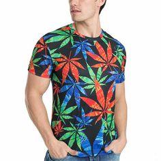 buy grass Patterned male T-Shirt in online store – TrendyTramp