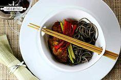 Anchovies black bean noodles #recipe #recipes #thisismytake #asian #noodles #blackbean #goodcarbs