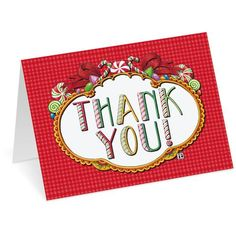 Christmas Thank-You Notecards