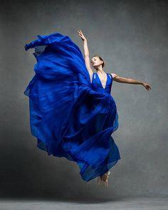 Dancer in Blue