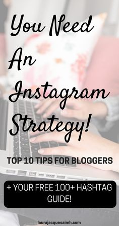 You need an Instagram strategy! I show you my favourite tips for using Instagram to grow your blog.