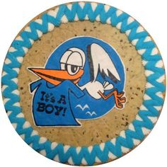 Its A Boy Stork #TheCookieStore