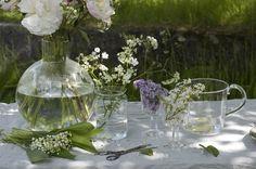 Handblown glass from Swedish Skruf.