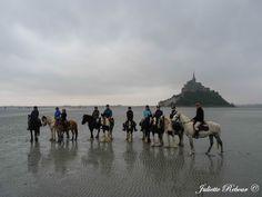 Rando à cheval au Mont-Saint-Michel !
