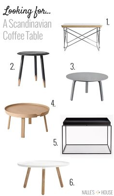 23 Stunning Scandinavian Style Furniture To Help You Pull Off The Look - Di Home Design Unique Coffee Table, Coffee Table Styling, Decorating Coffee Tables, Coffe Table, Modern Coffee Tables, Scandinavian Interior Design, Scandinavian Furniture, Scandinavian Living, Style At Home