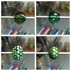 Beusha Joyeria: Work in Progress Hollow Bead