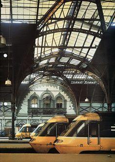 i love train stations