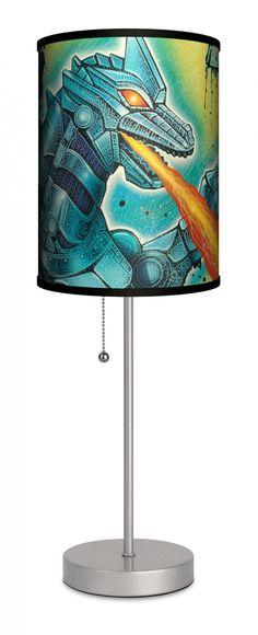 """Atrox"" lamp by Joel Nakamura"