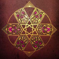 Mandala : islamic pattern interpretation study