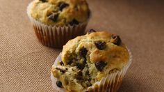 All natural fat free yogurt helps make these muffins moist and delicious!