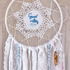 Dreamcatchers, Good Vibes, Unique, Design, Handmade, Pom Poms, Beautiful Gifts, Childrens Gifts, Feathers