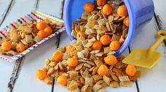 Blogger Corey Valley of Family Fresh Meals delivers an addictive snack mix perfect for your next summer gathering!