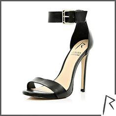Rihanna for River Island barely there stiletto sandals #riverisland