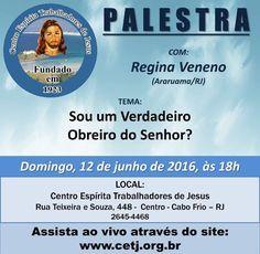 CETJ Convida para a sua Palestra Pública – Cabo Frio – RJ - http://www.agendaespiritabrasil.com.br/2016/06/11/cetj-convida-para-sua-palestra-publica-cabo-frio-rj-15/