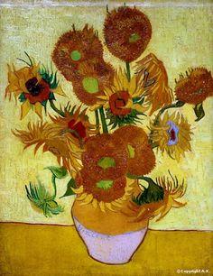 Vincent Van Gogh, Les tournesols, 1889