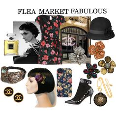"""FLEA MARKET FABULOUS"" by Zuniga Interiors"