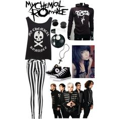 """My chemical romance!!"" by mglundquist on Polyvore"