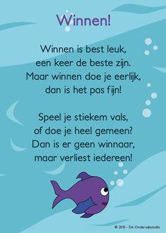 WINNEN EN VERLIEZEN Poetry For Kids, Yoga For Kids, School Sports, Kids Sports, Learn Dutch, Aperol, Emotional Awareness, Fitness Inspiration, Leader In Me
